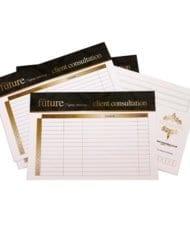 Client Consultation Cards Pack