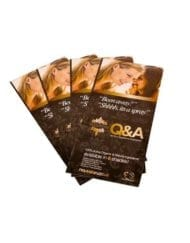 Client Q and A leaflets