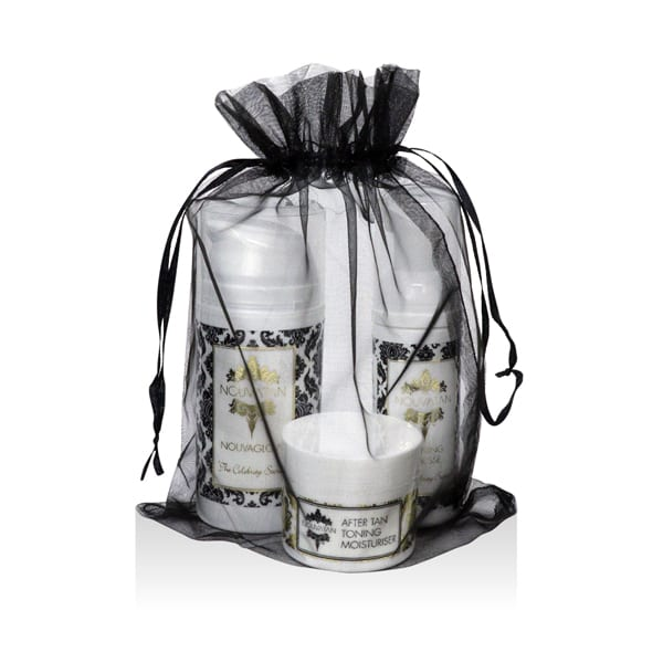 Organza Bag Spray Tanning Gift Set
