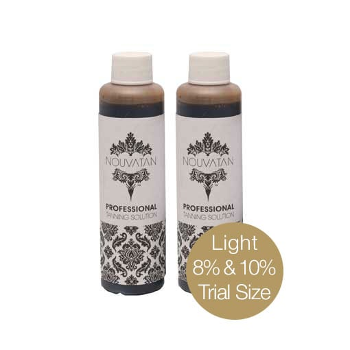 Trial size Tanning solution Light