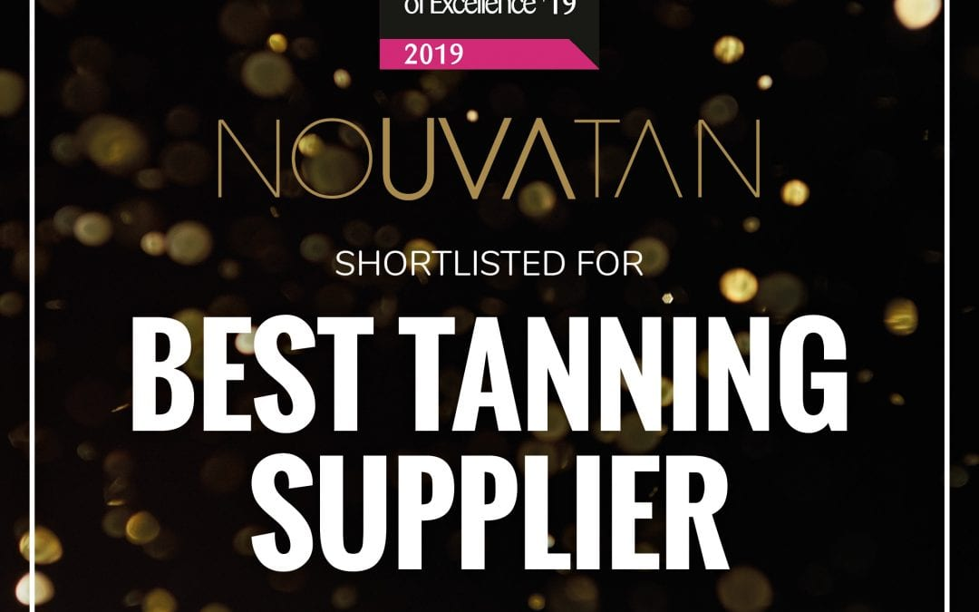 Nouvatan makes final four for Best Tanning Supplier 2019